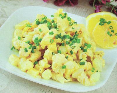 Zolta Salatka Z Makaronem Kurczakiem I Ananasem Przepis