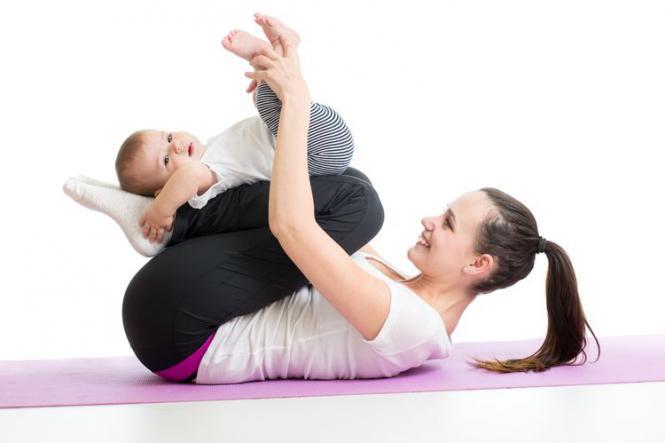 yoga z dzieckiem